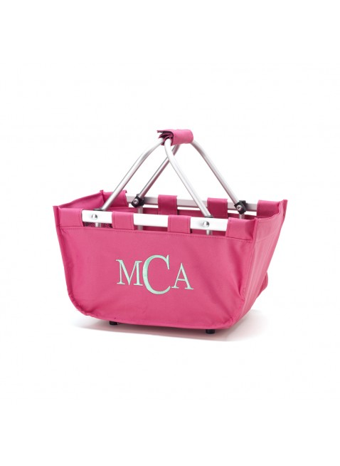 Mini Market Tote - Hot Pink