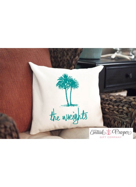 Seaside Collection Pillow with Custom Text