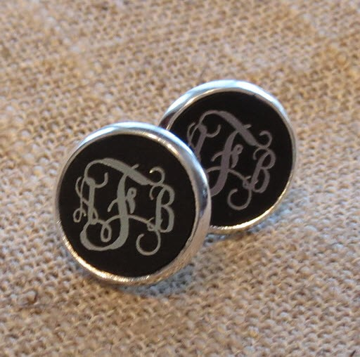 Engraved Acrylic Earrings