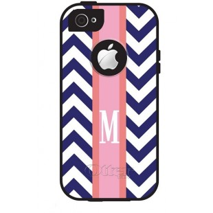 Otterbox® Commuter iPhone 5/5c/5s Monogram Cell Phone Cover Preppy Chevron