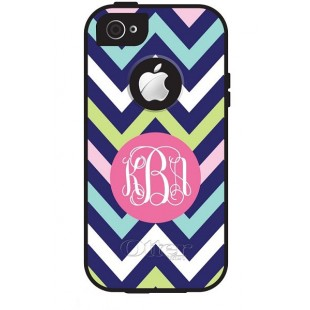 Otterbox Defender iPhone 5/5c/5s Monogram Cell Phone Cover Chevron Multi Series