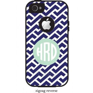 Otterbox® Commuter iPhone 5/5c/5S Monogram Cell Phone Case Tarpon Series