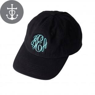 Black Monogram Cap