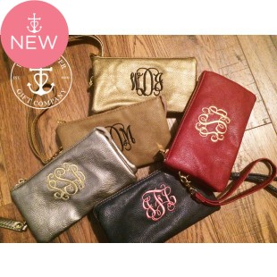 Larger Wristlet & Crossbody Clutch, MORE COLORS