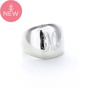 Sterling Silver Dome Ring
