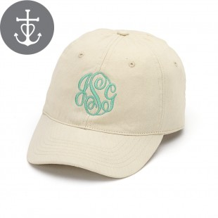 Natural Khaki Monogram Cap